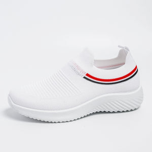 women's summer sneakers  Slip On Flat Shoes white  Loafers  women's