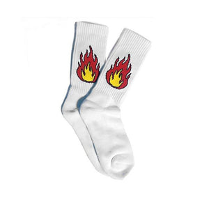 1 Pair Sale 9 Patterns Funny Women Ball Fire