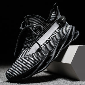 Sports Casual Fashion Hollow Blade AJ Men Shoes  Brand Off