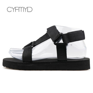 Summer Shoes Ladies Foam Platform sandals Hook Loop Beach sandal