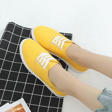 Load image into Gallery viewer, Loafers canvas Shoe Sneakers For Women Shoes Breathable Women's