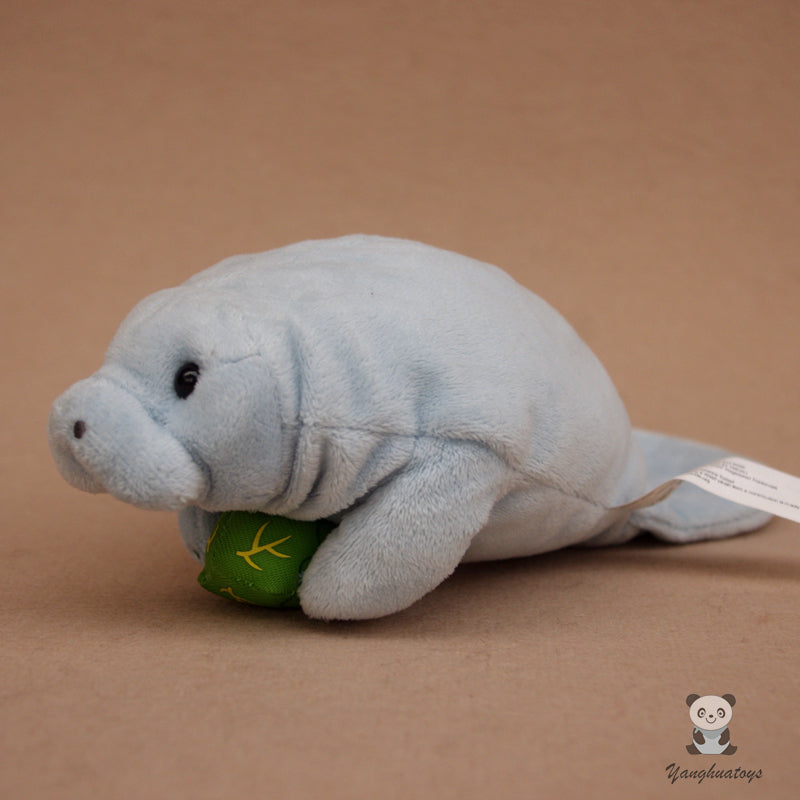 Super Soft  Plush Manatee Doll Toy Real Life