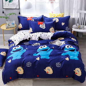 Cartoon Bedding Sets Boys girls Bed Linings twin full queen