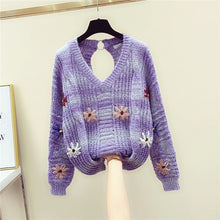 Load image into Gallery viewer, New Knitted Sweater Women Fall/winter Loose
