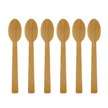 Load image into Gallery viewer, New Eco Friendly Tableware Set Bamboo Cutlery Set Wooden Knife Fork Spoon Flatware Set Biodegradable For Kitchen Utensils