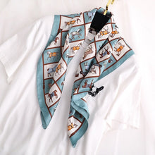 Load image into Gallery viewer, square scarf Luxury Travel Shawl