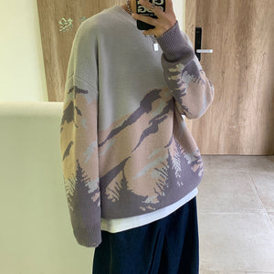 Fashion Round Neck Pullover