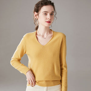 Shipping Solid Color Sweater