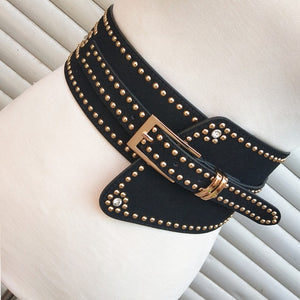 waistband adjustable wide belt