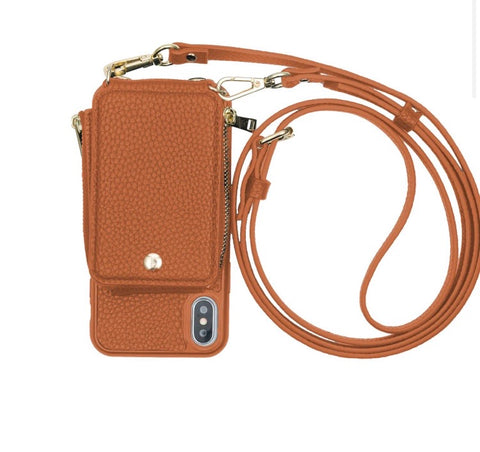 Camel Phone Crossbody