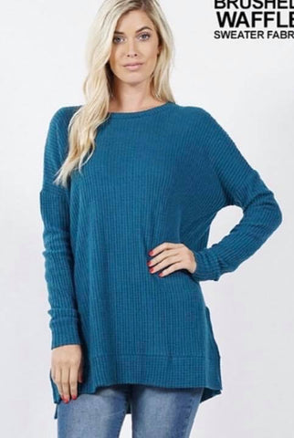 Teal Thermal Tunic