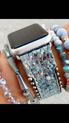 ERIMISH BLUE PYTHON Apple Watch Band