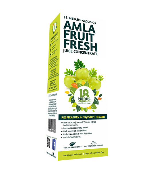 18 Herbs Organics Amla Fruit Fresh