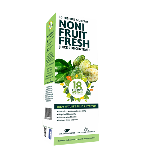 18 Herbs Organics Noni Fruit Fresh Juice Concentrate