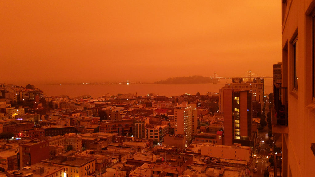 san francisco wildfire