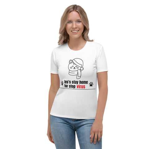 les's stay home Women's T-shirt tema.brand