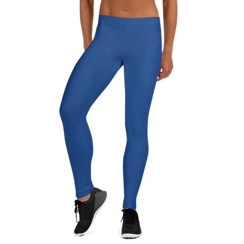 blue sport Leggings