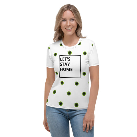 stay home(virus) Women's T-shirt TeMa.brand