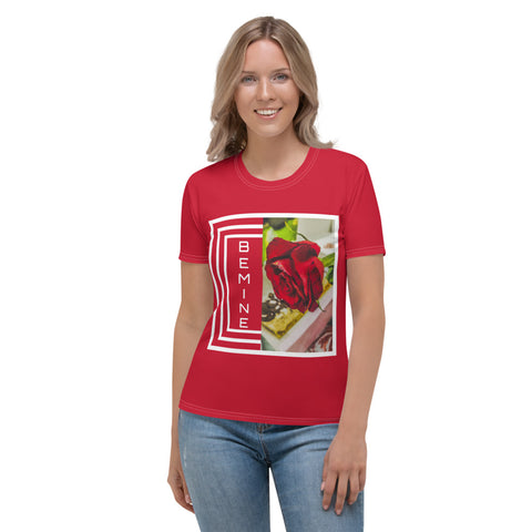 BE MINE Women's  Red T-shirt