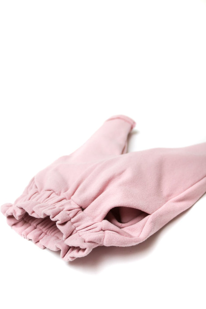 Cute High Waisted Baby Trousers Pink