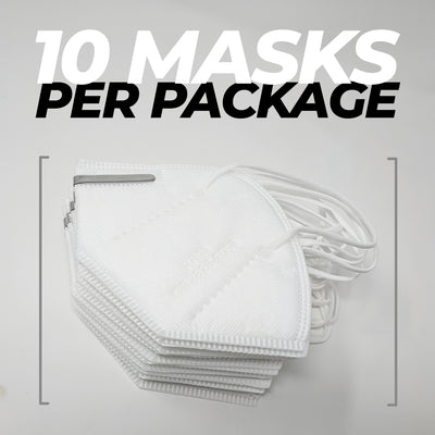 KN95 Protective Face Mask - 10 Pack