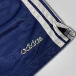 Load image into Gallery viewer, 90s Adidas Spell Out Three Stripe Gym Shorts