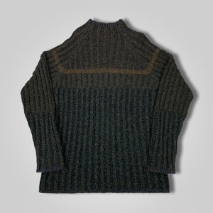 80s 90s Donna Karan DKNY SAMPLE Knit Wool Sweater