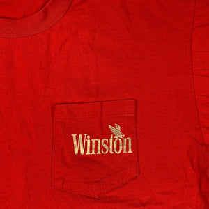 90s Winston Cigarettes Double Side Eagle Pocket T-Shirt