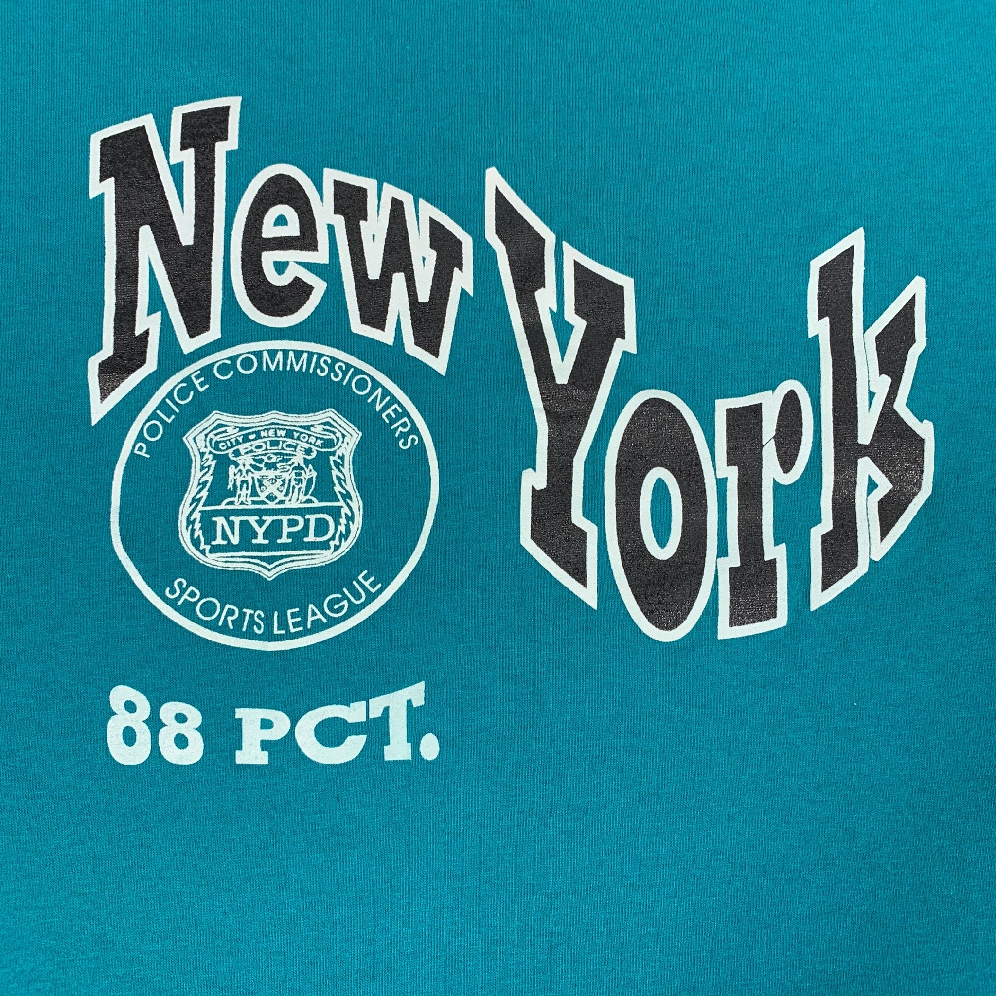 New York Police Commissioners Sports League 88 Pct BK T-Shirt