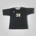 90s LOTTO Black Soccer Jersey