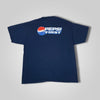 90s Y2K Champion Pepsi First Double Sided Box Logo T-Shirt