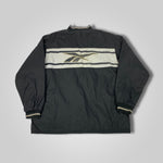 Load image into Gallery viewer, 90s Reebok Reversible Spell Out Half Zip Jacket