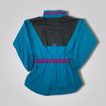 Load image into Gallery viewer, 90s Reebok Color Block Womens Windbreaker