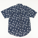 Load image into Gallery viewer, 90s Bugle Boy Palm Tree All Over Print Short Sleeve Button Up Shirt