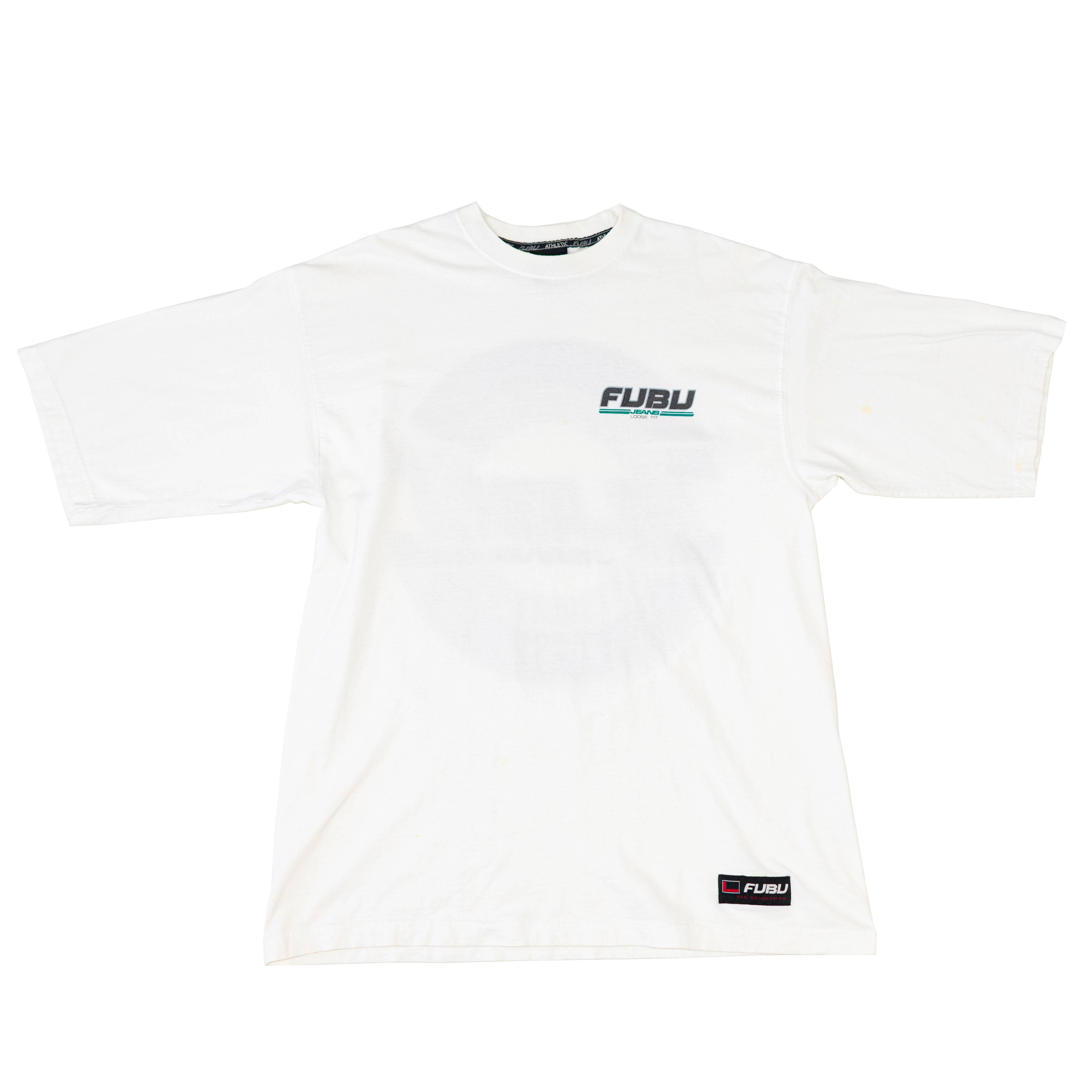 90s Fubu Jeans Loose Fit Double Sided T-Shirt