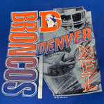 Load image into Gallery viewer, 1992 Logo 7 Denver Broncos Spell Out Crew Neck Sweatshirt