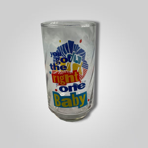 80s 90s UH HUH Diet Pepsi You Got The Right One Cup Glass