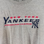 Load image into Gallery viewer, 90s LEE Sport New York Yankees Spell Out Embroidered T-Shirt