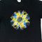 Abstract Atom Graphic T-Shirt