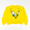 1996 Warner Bros Six Flags Tweety Big Face Sweatshirt