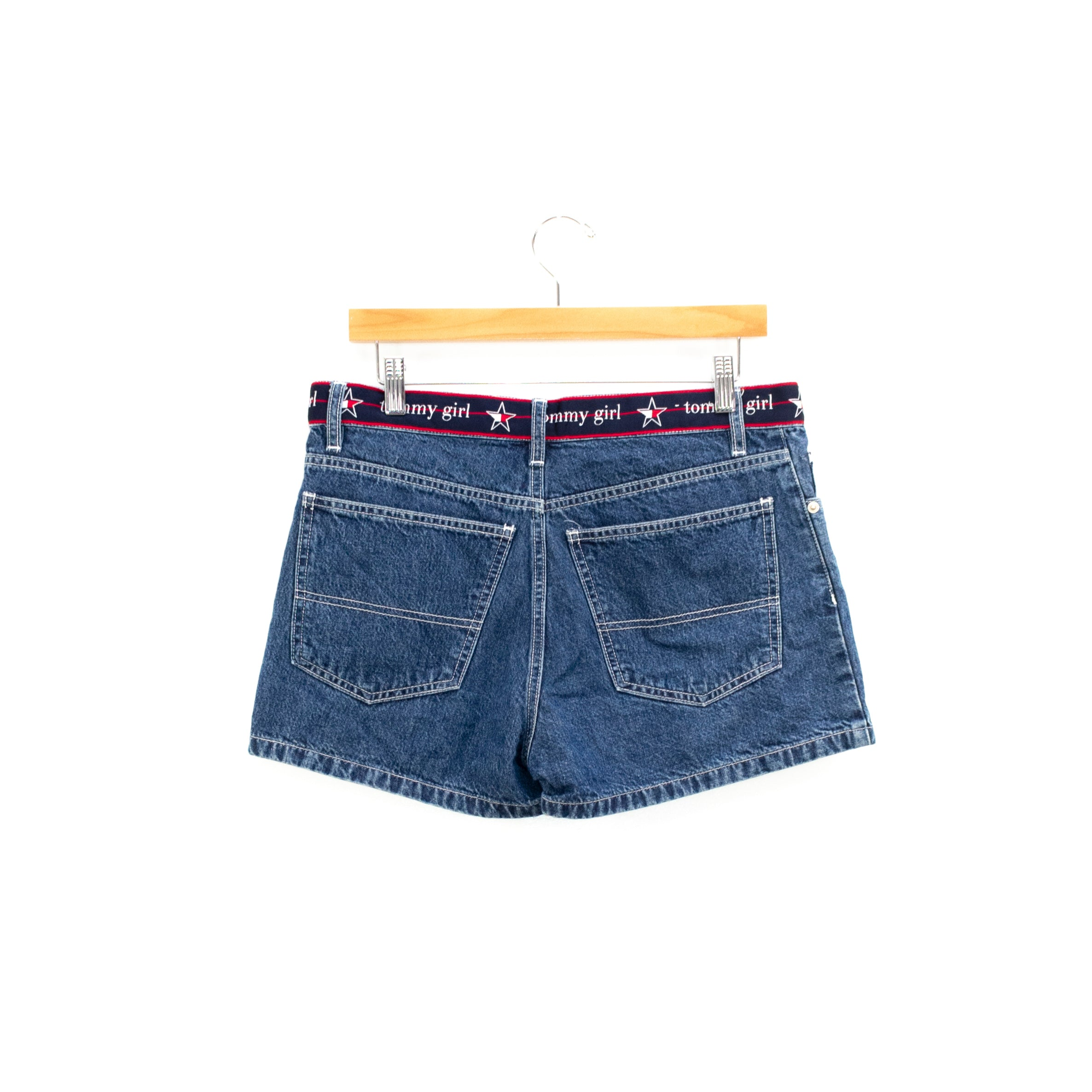 90s Y2K Tommy Hilfiger Tommy Girl Spell Out Shorts