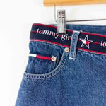 Load image into Gallery viewer, 90s Y2K Tommy Hilfiger Tommy Girl Spell Out Shorts