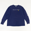 90s Adidas Soccer Spell Out Thrashed Long Sleeve T-Shirt