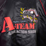 Load image into Gallery viewer, 80s Universal Studios A-Team Live Action Show Sichel Satin Jacket