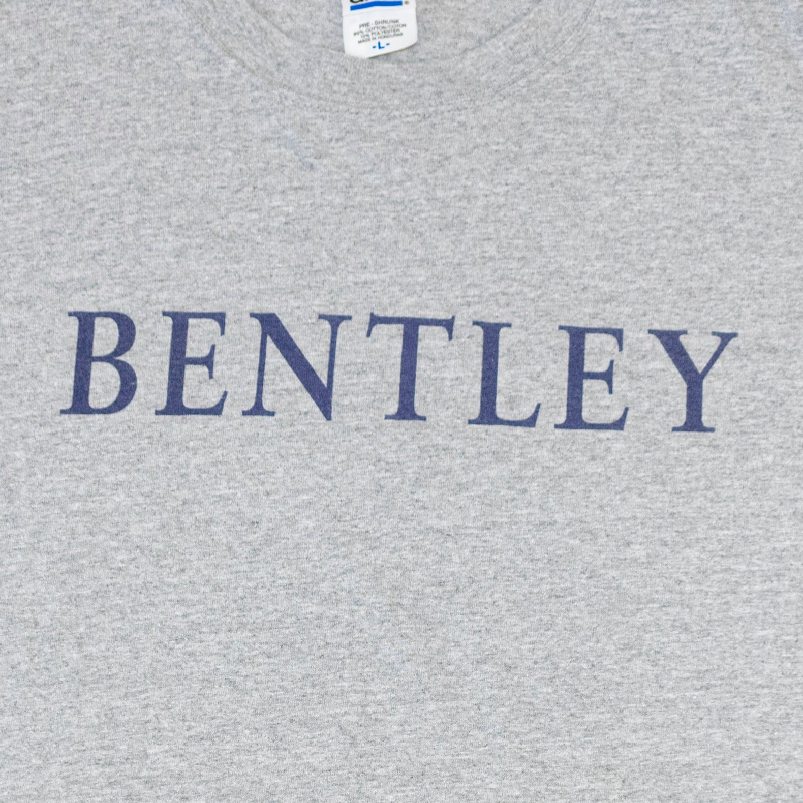 Y2K Bentley University Spell Out T-Shirt