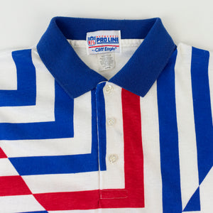 90s Cliff Engle Pro Line NY Giants Polo Shirt
