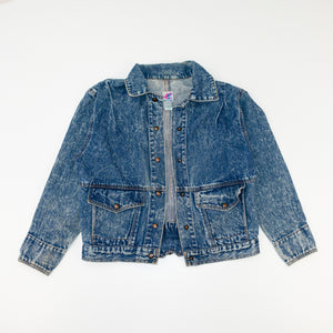 80s 90s Brite N Sassy Acid Wash Denim Jacket