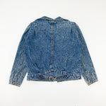 Load image into Gallery viewer, 80s 90s Brite N Sassy Acid Wash Denim Jacket