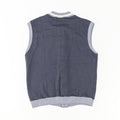 80s NIKE Blue Tag Button Sweater Vest