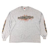 2005 Harley Davidson Spell Out Long Sleeve T-Shirt